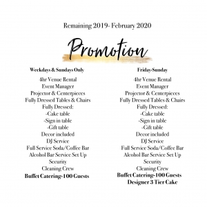 Promotion Event Package